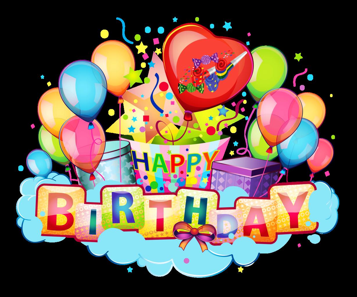 Image decor transparent picture. Decoration clipart happy birthday
