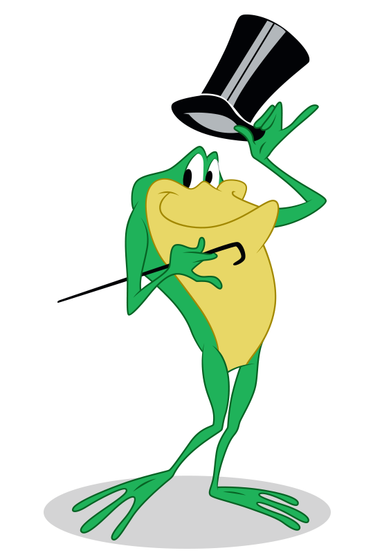Frogs clipart hat. Image michigan j frog