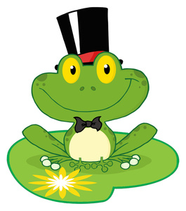 Frogs clipart hat. Free frog image