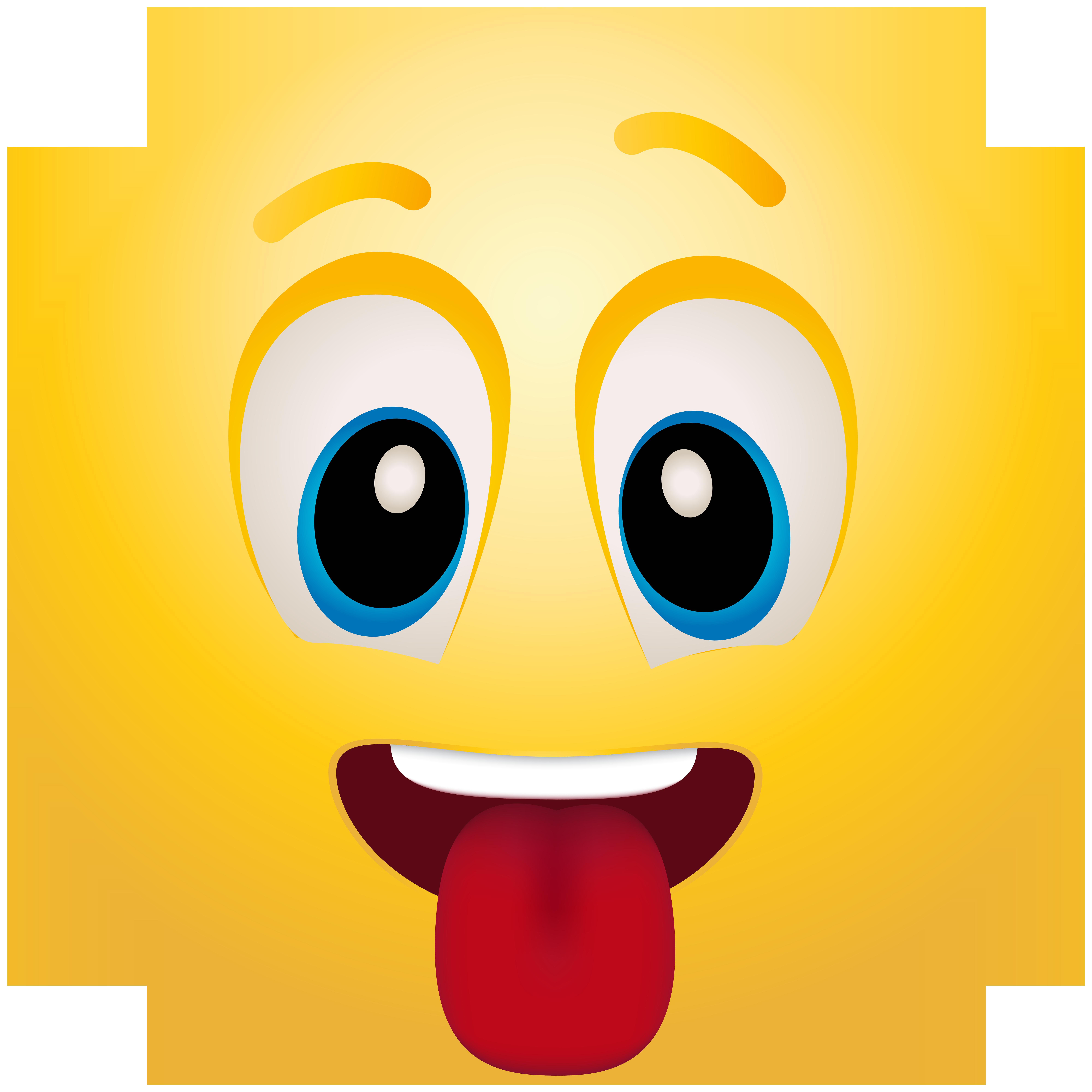 Emoji clipart book. Tongue at getdrawings com