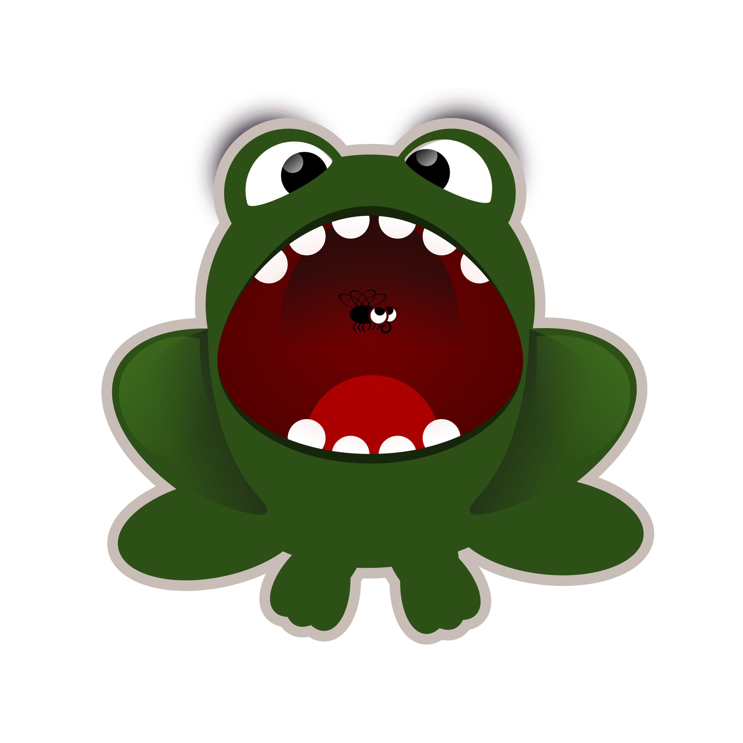 Animated frog free download. Flu clipart out