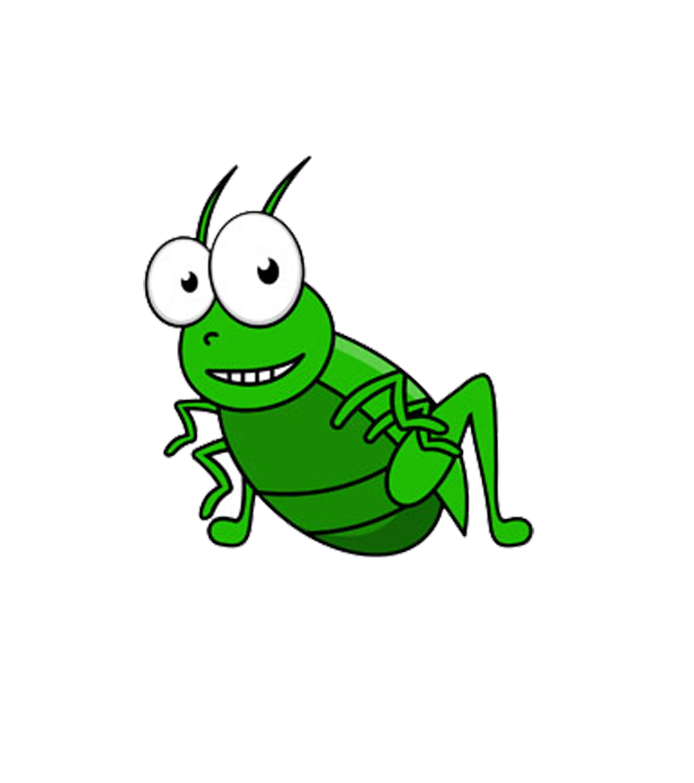 Field cricket clip art. Insect clipart insect grasshopper