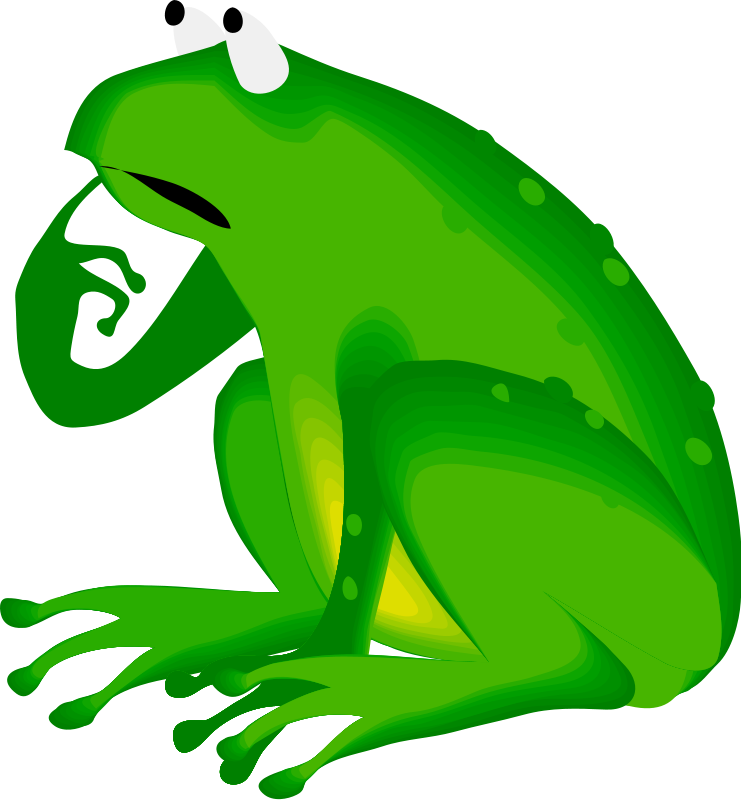 frogs clipart summer