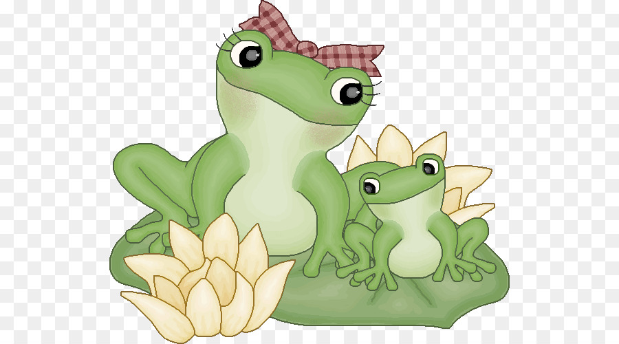 Cartoon frog transparent clip. Frogs clipart mother