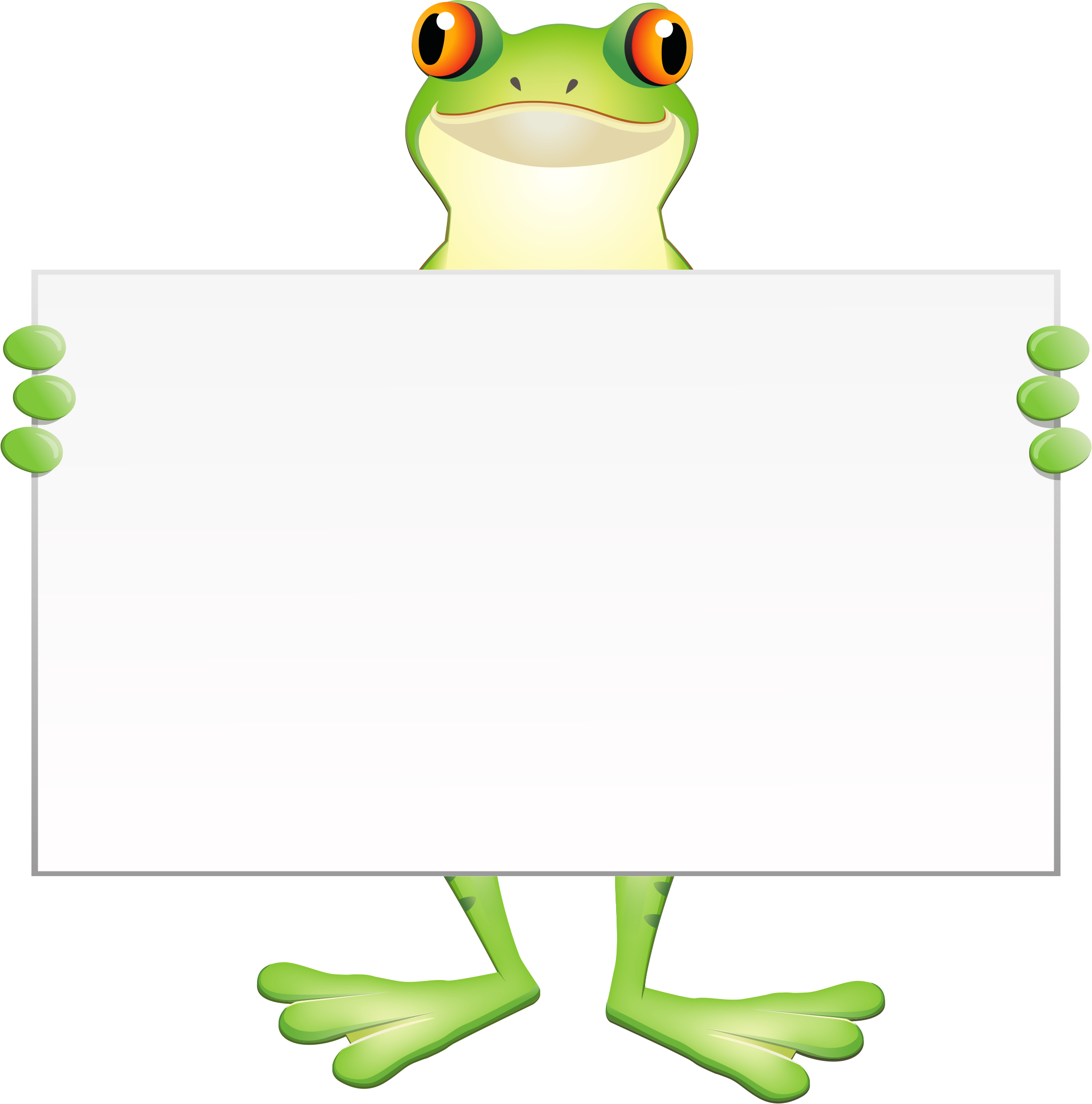 Frogs clipart muscular. The healthy frog fees