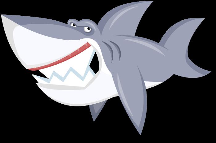 Clipart shark nice shark. Cartoon by legendaryfrog on