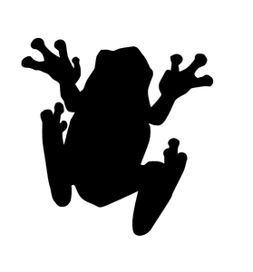 Clipart frog shadow. Silhouette free download best