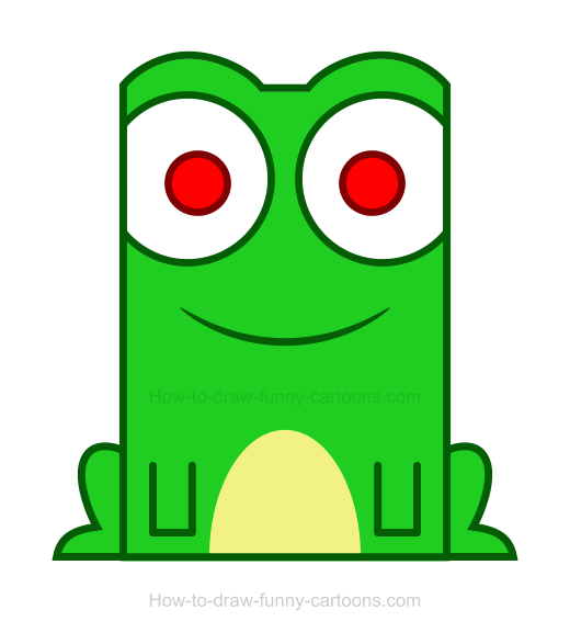 Frogs clipart simple. Frog