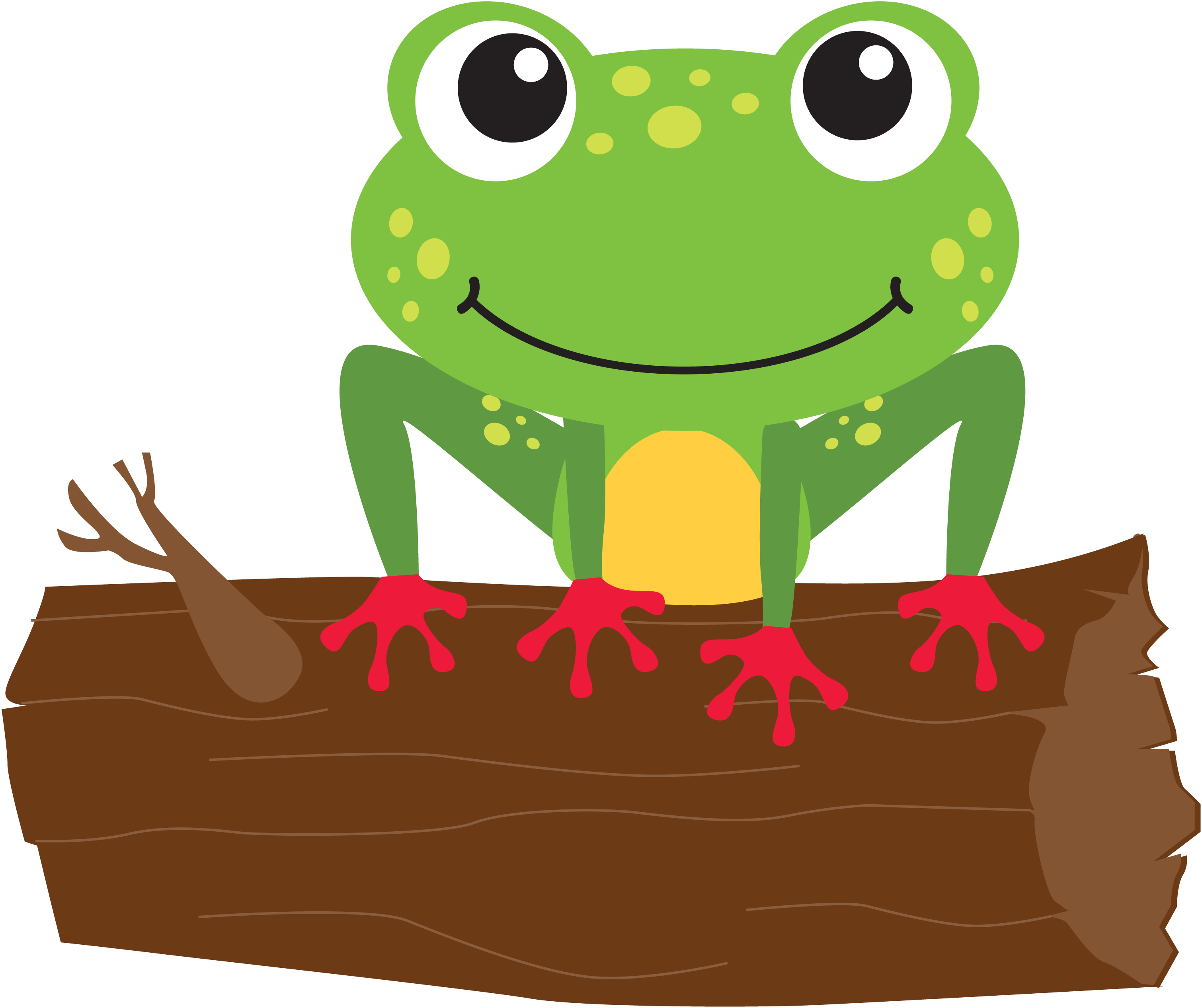 Frog clipart summer. Announcements archive leap into