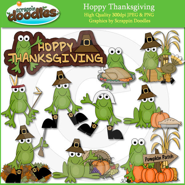 best frog find. Frogs clipart thanksgiving