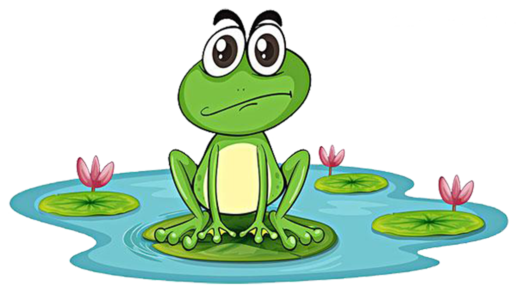 Toad clipart many frog. Edible pond clip art