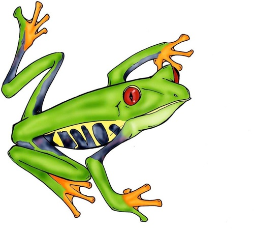 Free cartoon download clip. Frog clipart tree frog