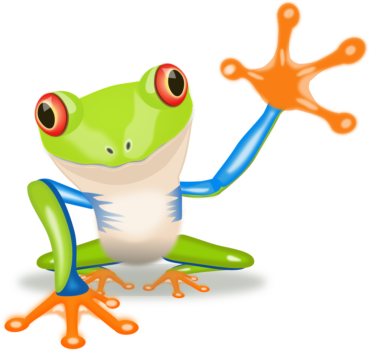 Frogs clipart amphibian. Fridayfrogfact these mind blowing