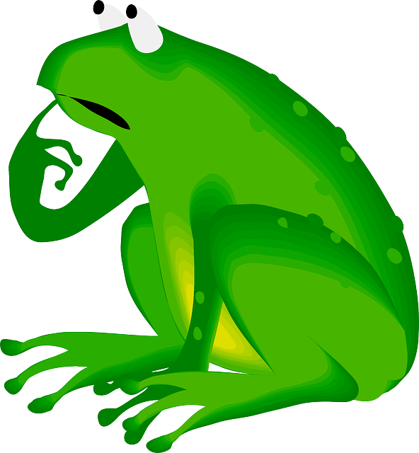 Toad clipart angry frog. Free image on pixabay