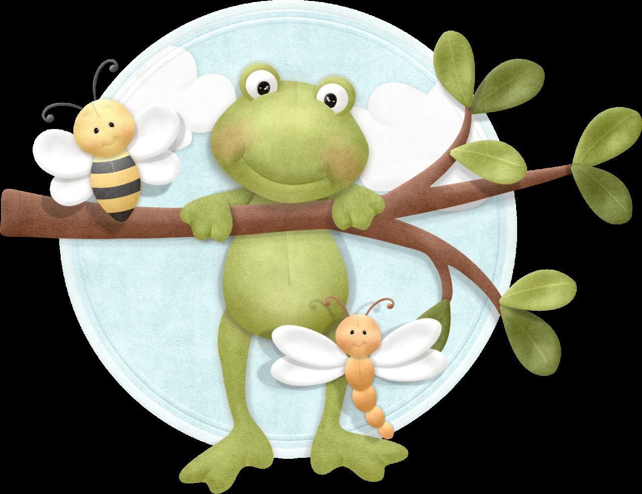 Woodland clipart frog. Wordstrip png clip art