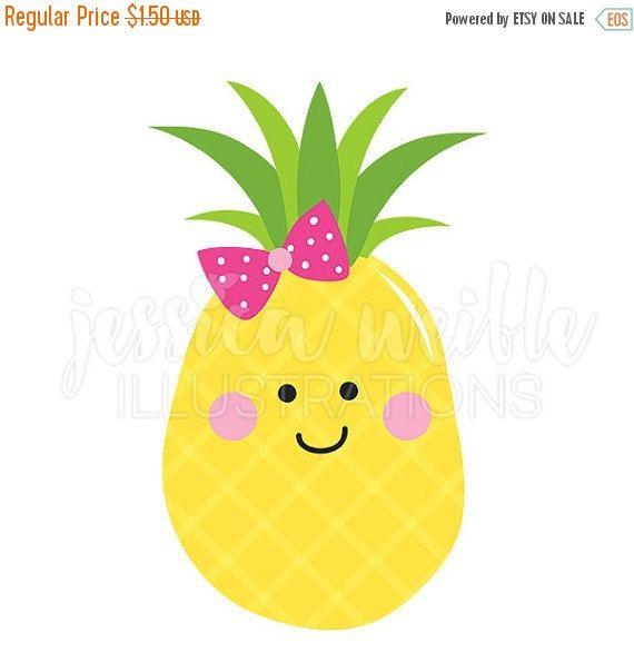 Pineapple clipart baby. Sale cutie cute digital