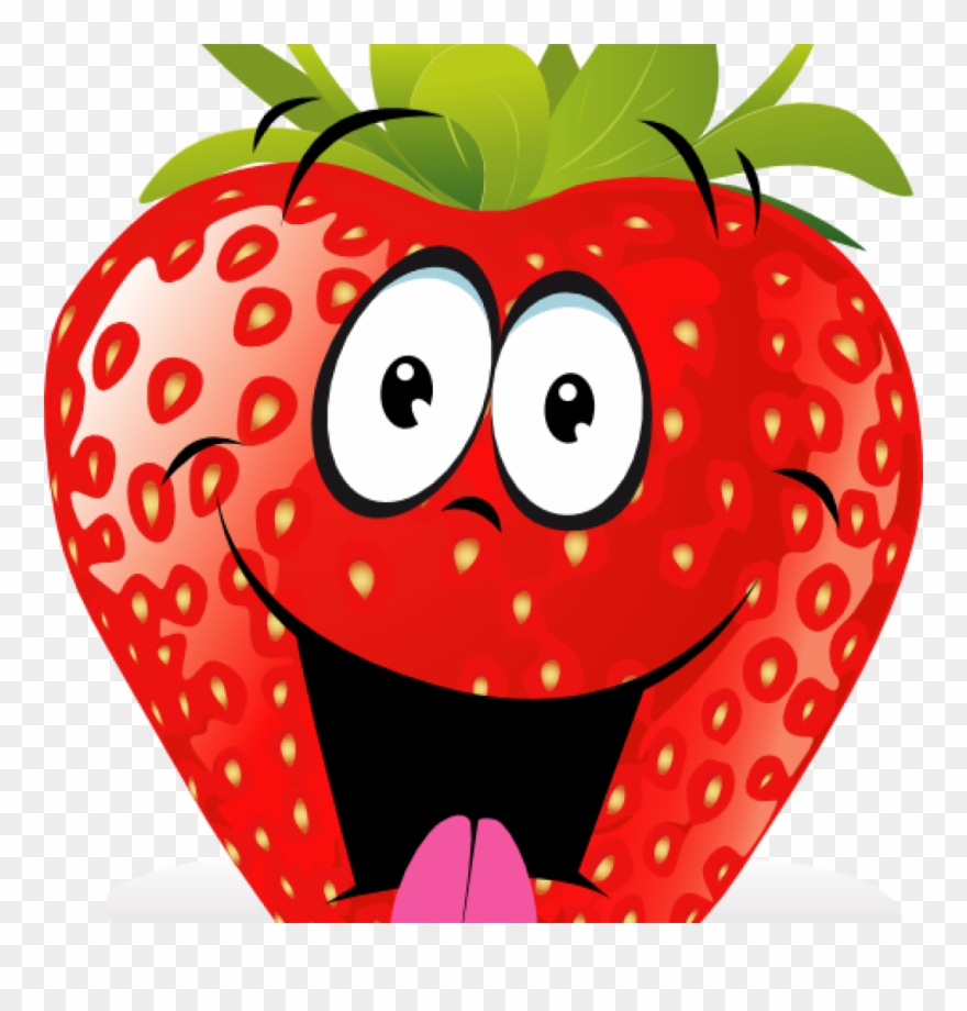 Strawberries clipart cartoon. Strawberry fruit fruits