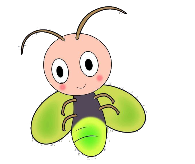 Insects clipart firefly. Cartoon clip art cute