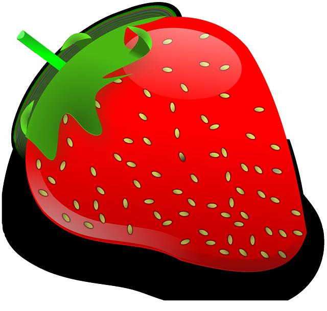 Cute Strawberry Clipart