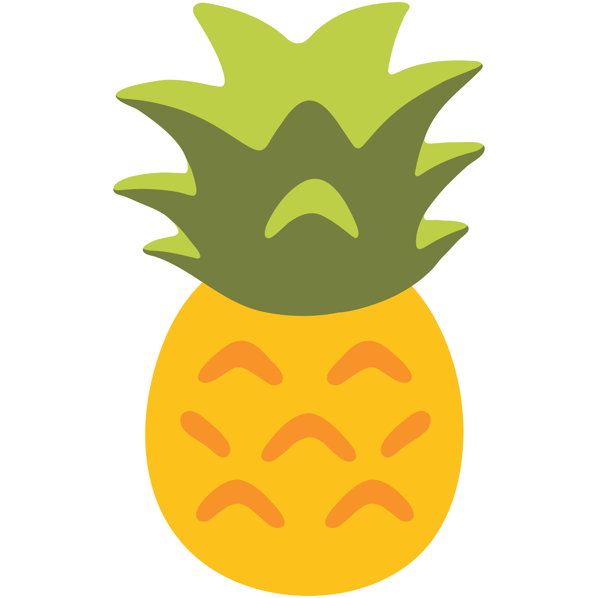 pineapple clipart ananas #137854126