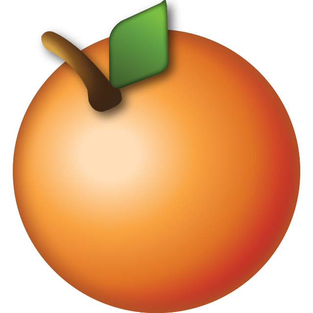 Emoji clipart fruit. Download orange icon island