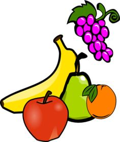 Clipart fruit fresh fruit. Clip art library