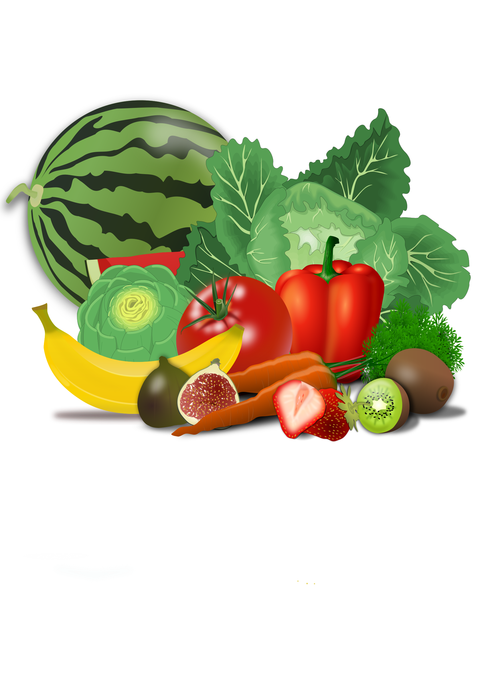 Clipart vegetables kid, Clipart vegetables kid Transparent ...