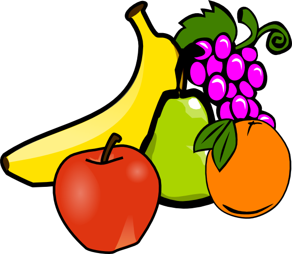 collection of vegetables. Clipart fruit fresh fruit