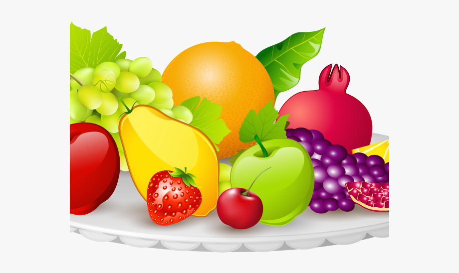 Clipart fruit fresh fruit. Transparent background