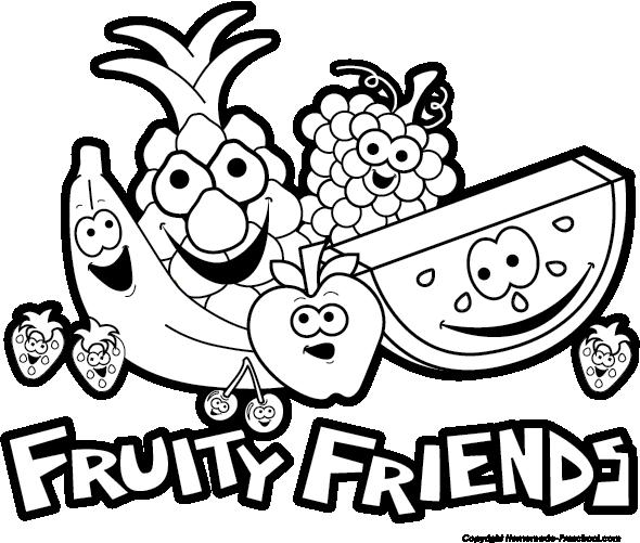 Clipart fruit friend. Free