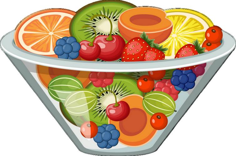 Clipart fruit fruit cup. Smoothie salad clip art