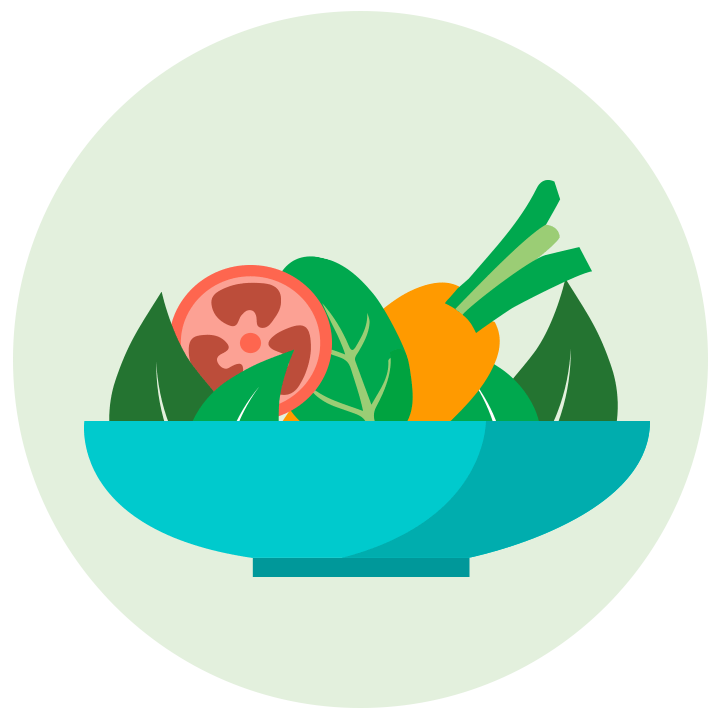 Clipart fruit fruit plate. Fruits and veggies have
