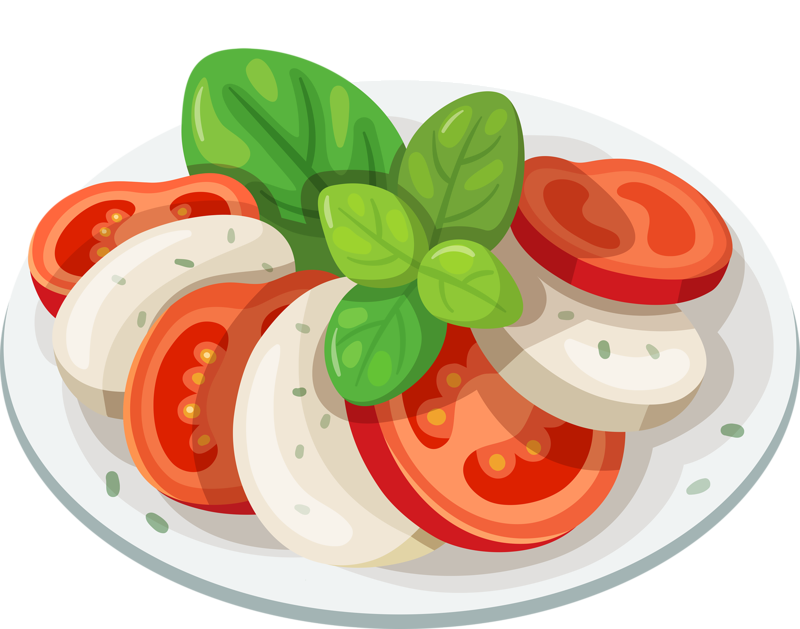 Food vegetables fruits and. Clipart fruit fruit plate