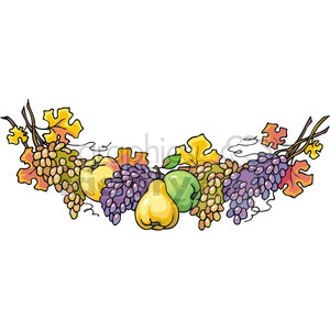 Of royalty free . Garland clipart fruit