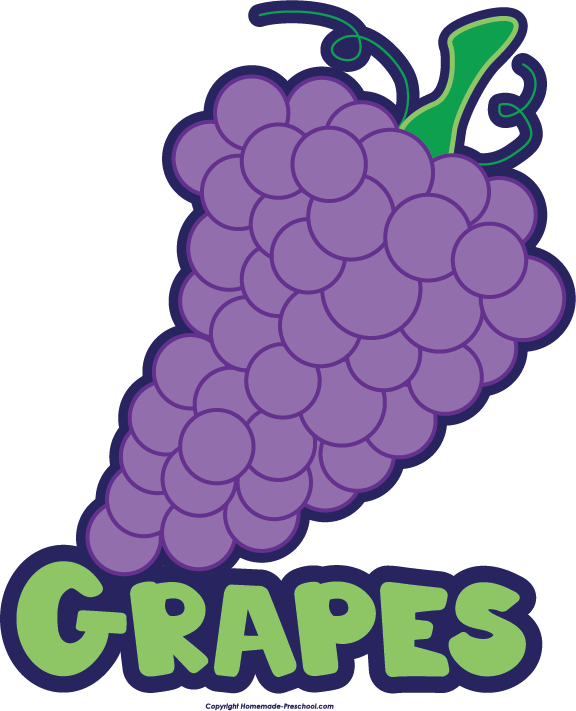Free food groups click. Grapes clipart face
