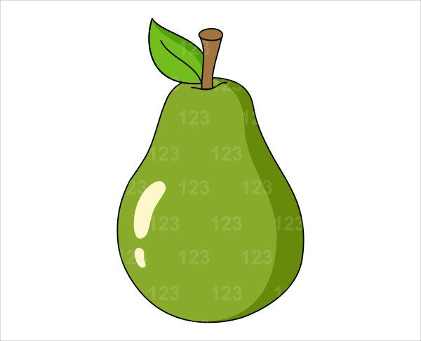 Fruit clipart green fruit. Pear image pears fruits
