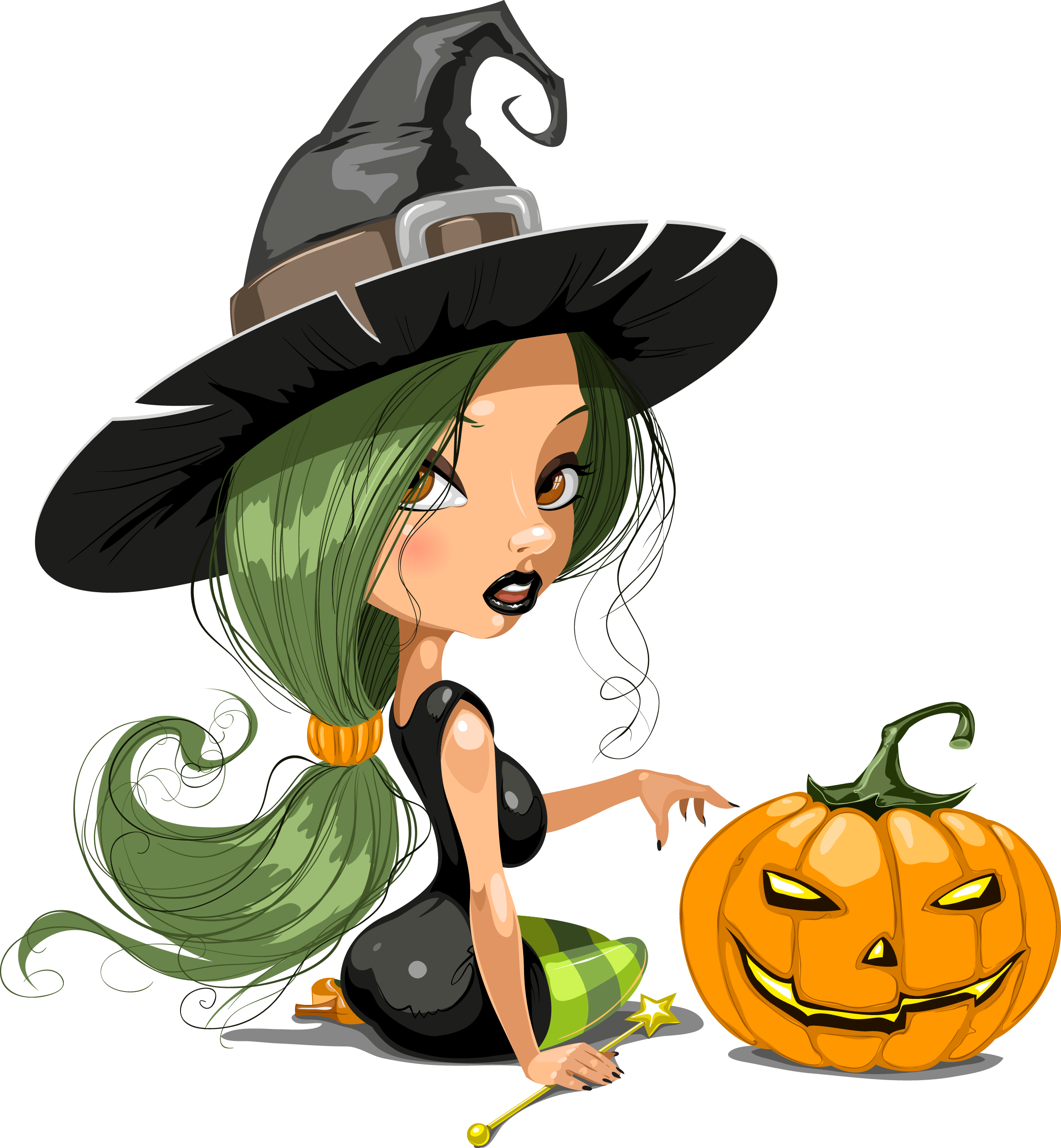 Witch clipart bowl. Tubes hallowen brujas pinterest