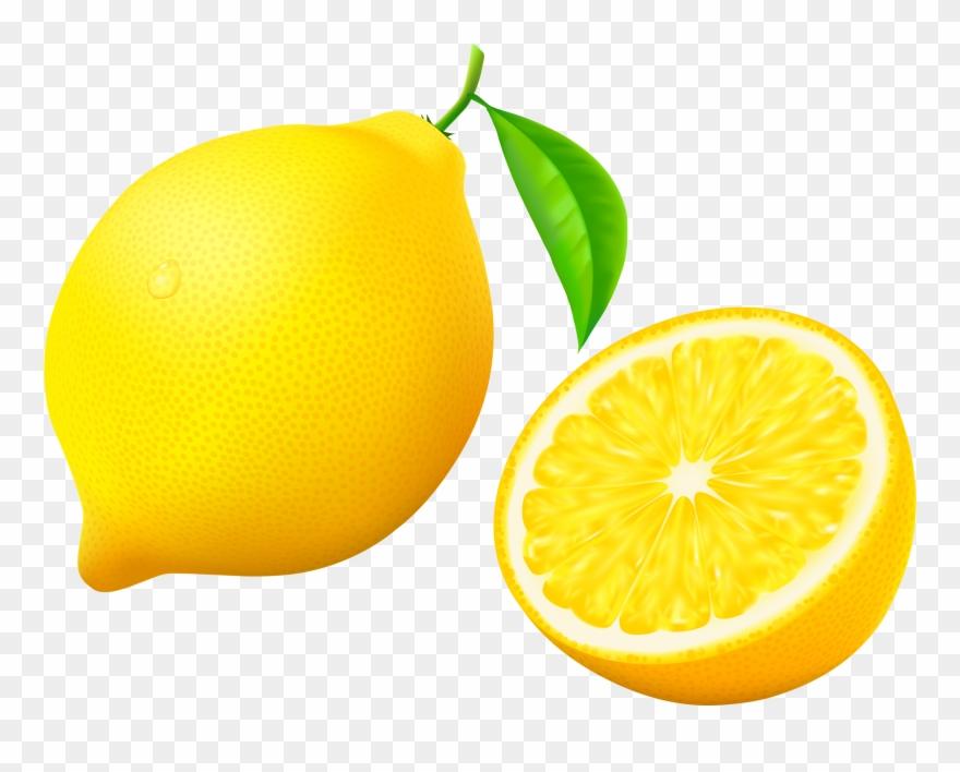 pattern art cartoon. Lemons clipart fruit single