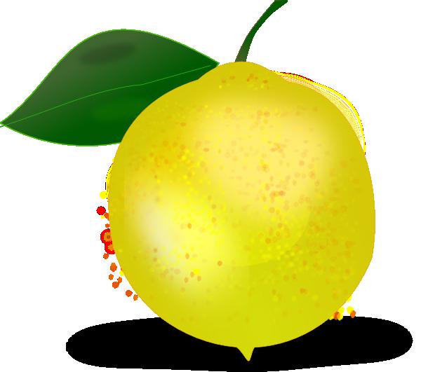 Photorealistic clip art at. Clipart fruit lemon
