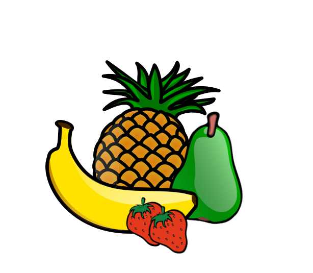 Free images at clker. Fruit clipart fruit tray
