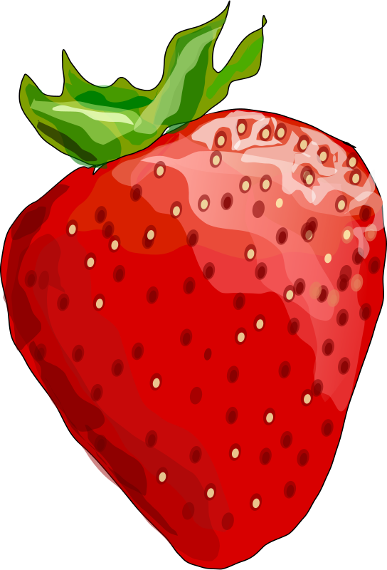 By degri clip art. Strawberries clipart strawberry patch