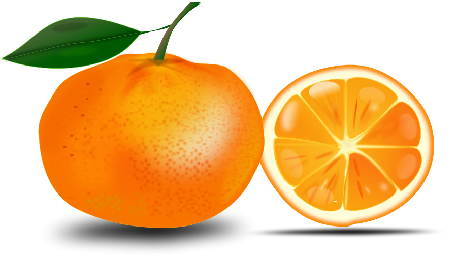 Slice of an printables. Clipart fruit orange