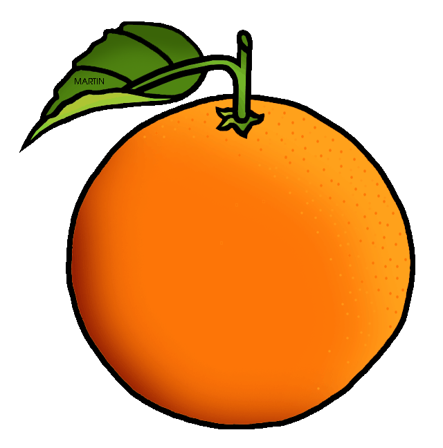 collection of an. Clipart fruit orange