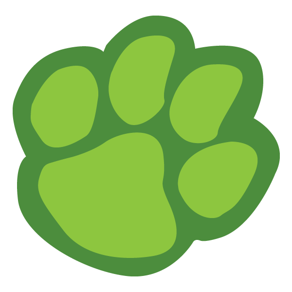 How to draw a. Clipart tiger paw print