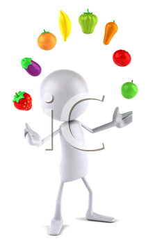 Iclipart royalty free image. Clipart fruit person