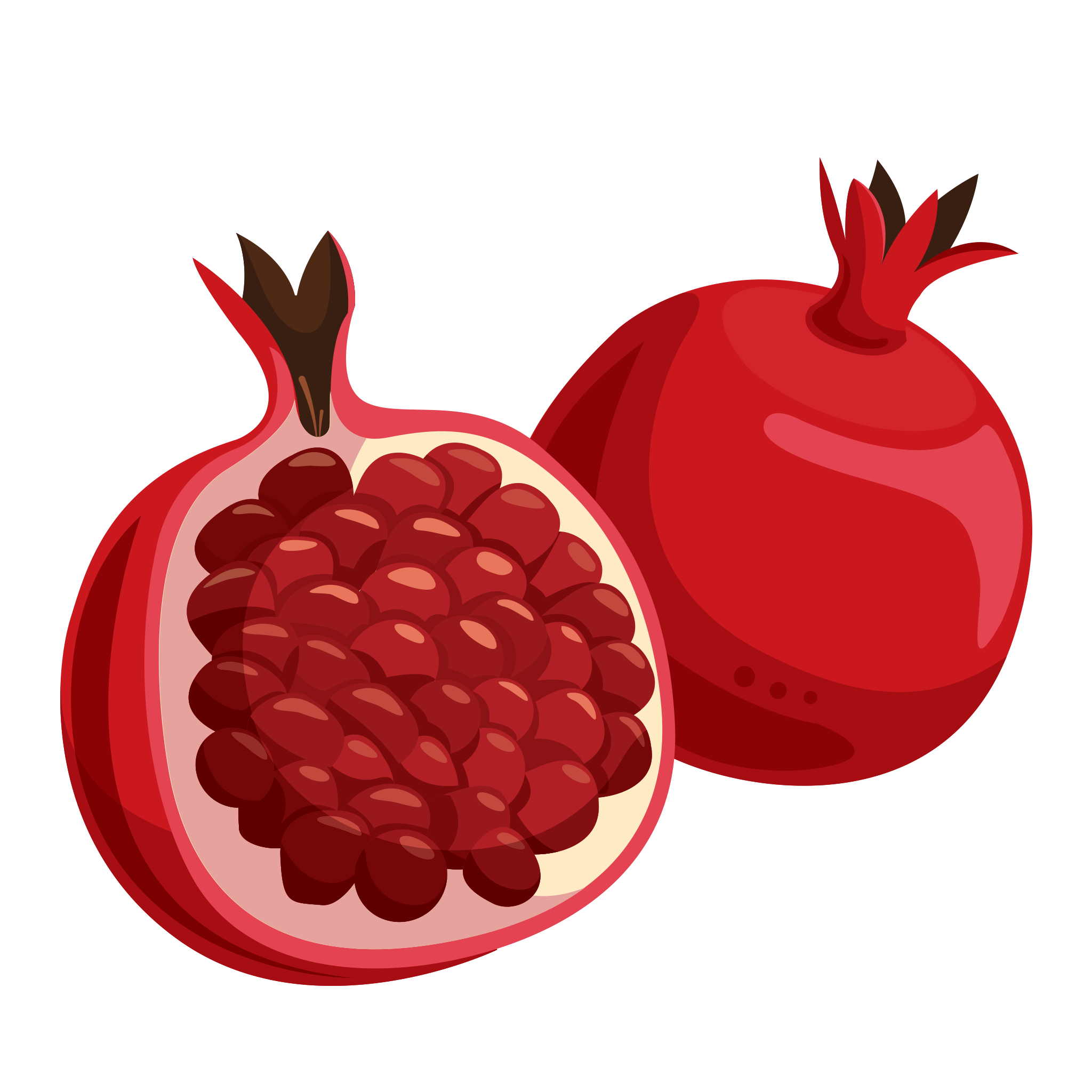Pomegranate clipart fruts. Fruit png hd image