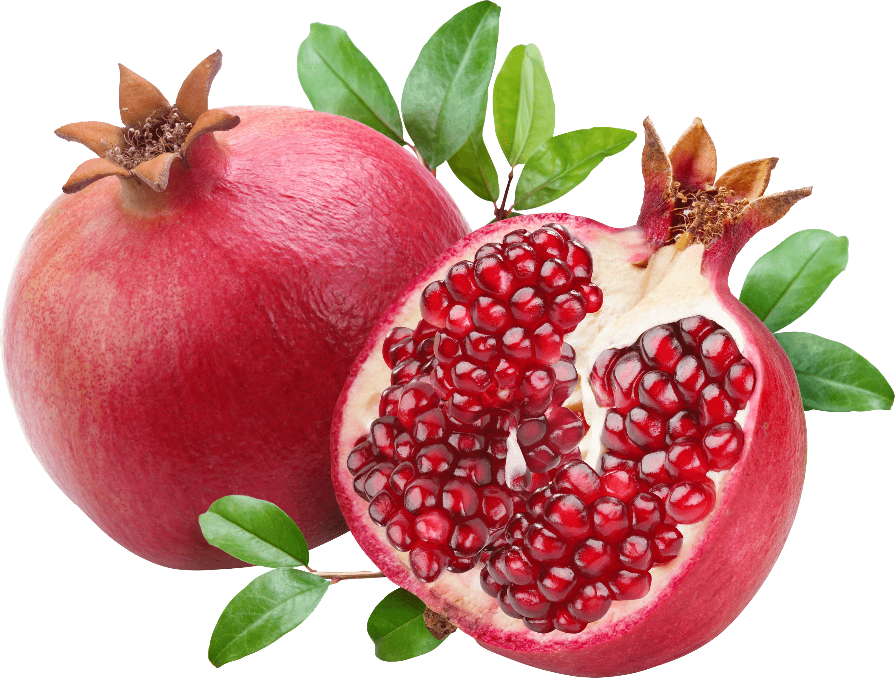 Pomegranate clipart pomegranite. Open duo transparent png