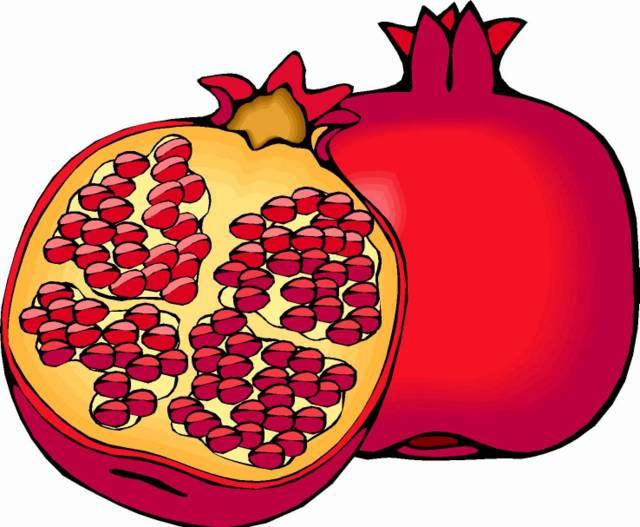 Pomegranate clipart fruts. Fruit panda free images