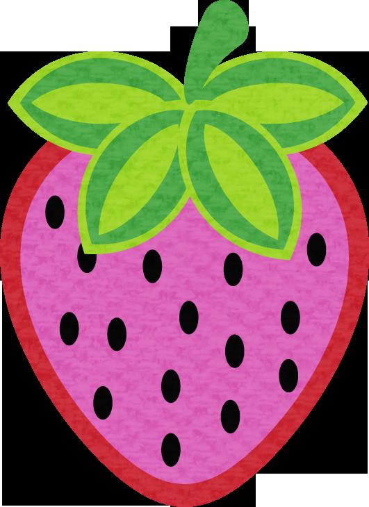 Clipart fruit printable. Strawberry fiestas infantiles pinterest