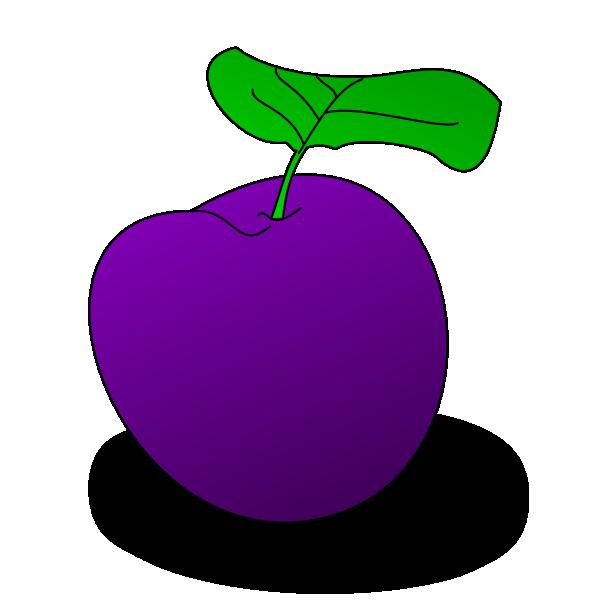 . Grape clipart plum fruit